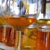 Campioni di miele predisposti per la degustazione
