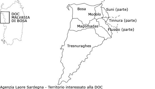 Cartina Altimetrica Sardegna.Sardegna Agricoltura Malvasia Di Bosaargomenti Prodotti Tipici